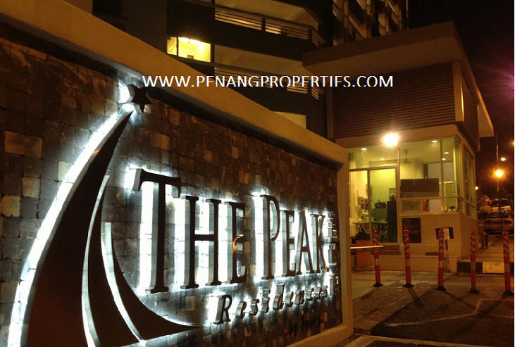 The peak residences