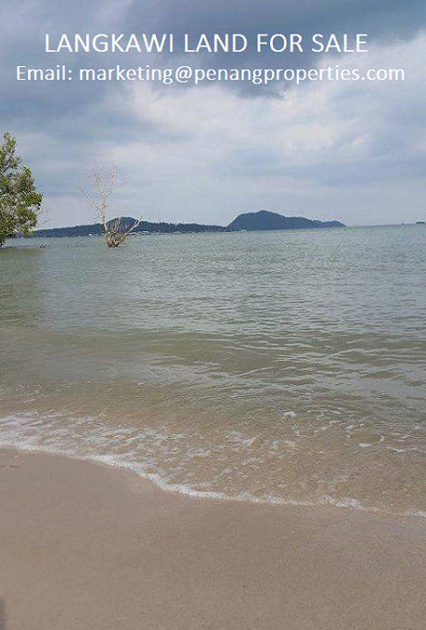 land in pulau langkawi with seaview